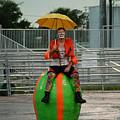 Rainy Day Clown by Keith Lovejoy