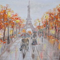 Rainy Day In Paris by M B