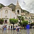 Rainy Day In Taormina 2 by Madeline Ellis