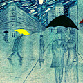 Rainy Day In The City by Kate Hopson