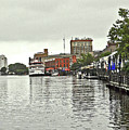 Rainy Day In Wilmington by Lydia Holly