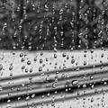 Rainy Day On The Train by Robert Ullmann