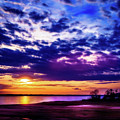 Rainy Day Sunset - 2 by Barry Jones