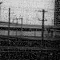 Rainy Day Train by Vicki Ferrari