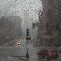 Rainy Days In Boston by Julie Lueders