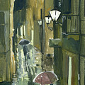 Rainy Evening In Kotor by Sakurov Igor