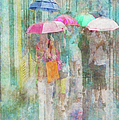 Rainy In Paris 2 by Ramona Murdock