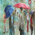 Rainy In Paris 6 by Ramona Murdock