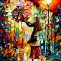 Rainy Mood by Leonid Afremov