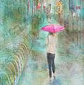 Rainy In Paris 3 by Ramona Murdock