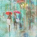 Rainy In Paris 4 by Ramona Murdock