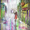 Rainy Paris Day by Darren Cannell