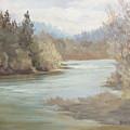 Rainy River by Karen Ilari