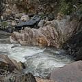 Rainy Rocky Rapids by Susan Brown