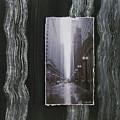 Rainy Street Layered by Anita Burgermeister