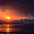 Rainy Sunset by Robert Potts