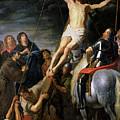Raising The Cross by Gaspar de Crayer