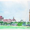 Rajabai Clock Tower And Bombay High Court by Keshava Shukla