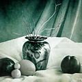 Raku Pottery Still Life by Sandra Selle Rodriguez