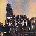 Raleigh Skyscrapers by Ryan Fox