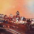Raleigh Sunrise Iv by Ryan Fox