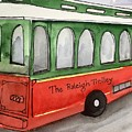 Raleigh Trolley by Kimberly Balentine