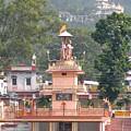Ram Statue - Rishikesh India by Kim Bemis