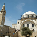 Ramban Synagogue  by Amos Gal