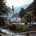 Ramsau Church by Donald Paczynski