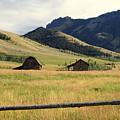 Ranch Along Tom Miner Road by Marty Koch