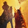 Ranch Girl Selfie by JoJo Brown