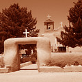Ranchos De Taos Church   New Mexico by Wayne Potrafka