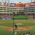 Rangers Ballpark In Arlington by Doug Vance