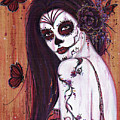 Ranita Day Of The Dead by Renee Lavoie