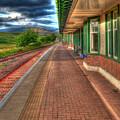 Rannoch Station Platform by Chris Thaxter