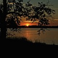 Roanoke Island Sunset by Ronald Lutz