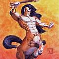 Ranting Centaur by Melissa A Benson