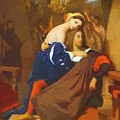 Raphael And Fornarina 1840 by Ingres Jean Auguste Dominique