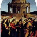 Raphael Marriage Of The Virgin by PixBreak Art