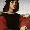 Raphael Portrait Of Agnolo Doni by PixBreak Art