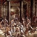 Raphael The Baptism Of Constantine by PixBreak Art