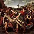 Raphael The Entombment by PixBreak Art