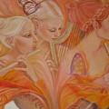 Raphsody On An Iris by Pamela Mccabe