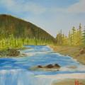 Rapids by Alan K Holt