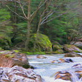 Rapids At The Rivers Bend by Jeffrey Kolker