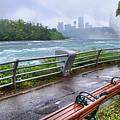 Rapids In The Rain by Tammy Wetzel