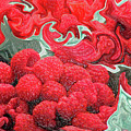 Raspberries by Kathy Moll