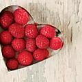 Raspberry Heart by Kim Fearheiley