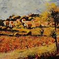 Rasteau Vaucluse  by Pol Ledent