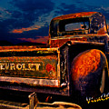 Rat Rod Chevy Truck by Chas Sinklier